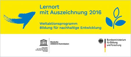 Bildung für nachhaltige Entwicklung - Auszeichnung ZSU