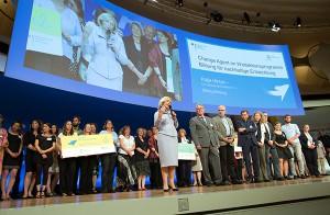 Agendakongress Bildung für nachhaltige Entwicklung 2016. Auszeichnung von Lernorten, Netzwerken und Kommunen. 11.07.2016. Copyright: Thomas Koehler/ photothek.net